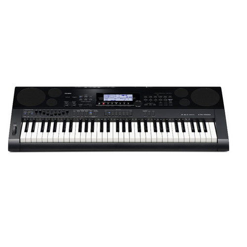 Casio CTK-7000 61-Key Portable Keyboard with Power Supply (CTK7000)
