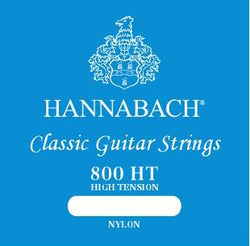 Hannabach Blue 800 HT High Tension Classic Guitar Strings