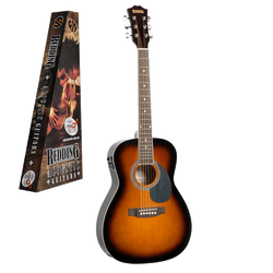 REDDING - ¾ size dreadnought electric/acoustic.