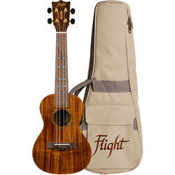 (Available for order) Flight DUC445 Glossy Acacia Concert Ukulele