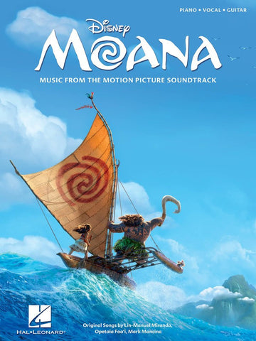 Disney Moana Piano, Vocal, Guitar Music from the Picture Motion Soundtrack