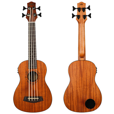 (Available for order) Flight DUBASS Electro-Acoustic Bass Ukulele (DU-BASS)