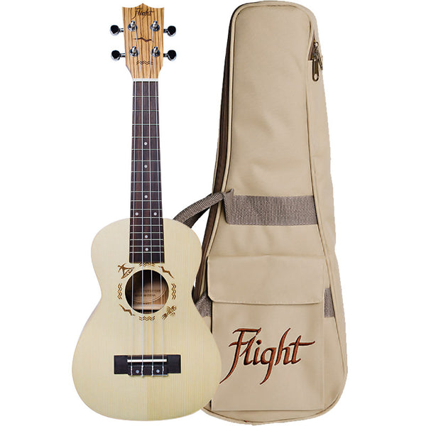 (Available for order) Flight DUC325 SP/ZEB Concert Ukulele