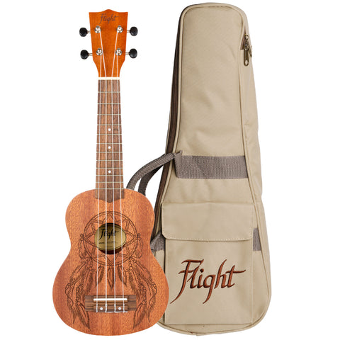 Flight NUS350 Dreamcatcher Soprano Ukulele (NUS350DC)