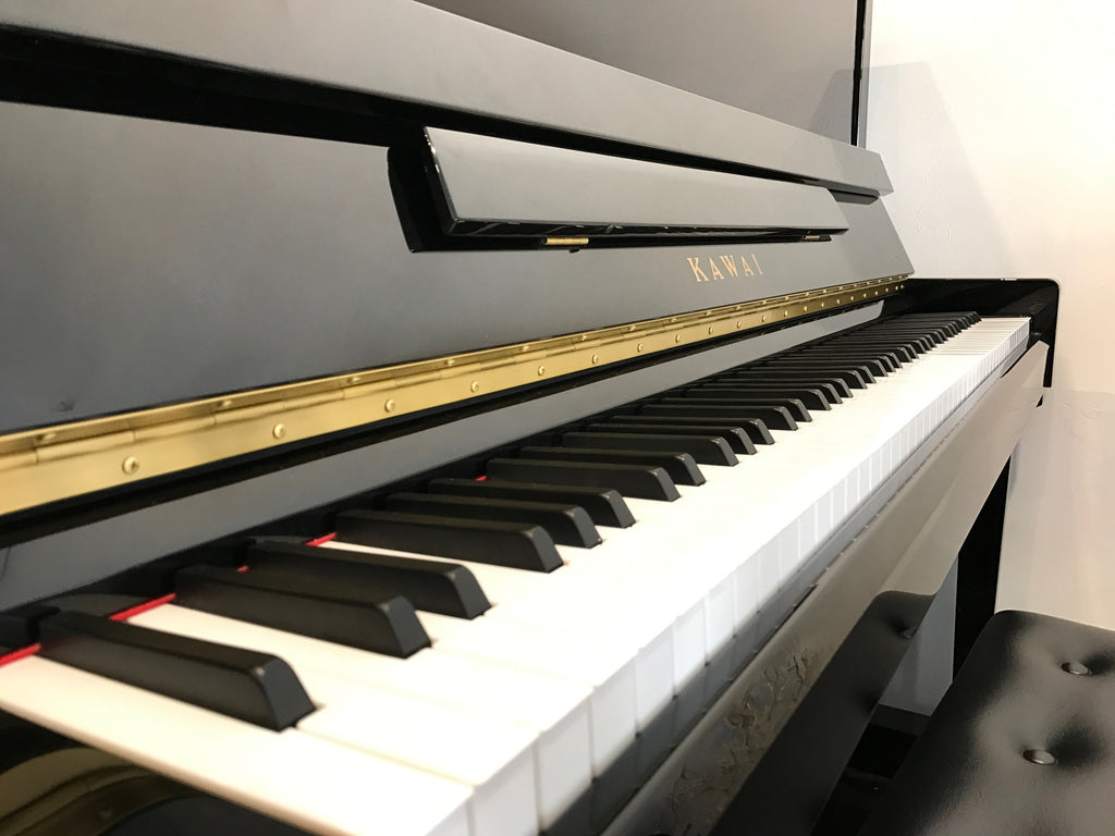 kawai kx 21 upright acoustic piano 121cm with stool piano time. Black Bedroom Furniture Sets. Home Design Ideas