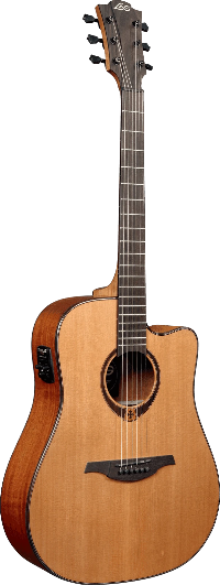 LAG Tramontane T200DCE Acoustic Electric Guitar