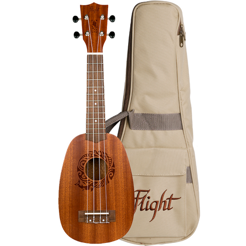 (Available for order) Flight NUP310 Pineapple Soprano Ukulele