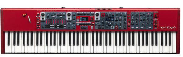 Nord Stage 3 | 88 Key Stage Piano | Organ, Piano, and Effects