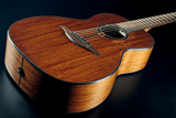 LAG Tramontane T90PE Mahogany Parlour Acoustic/Electric