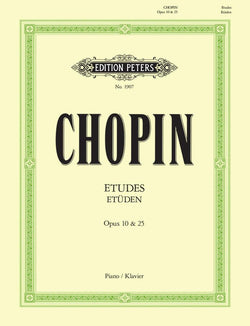 Chopin - Etudes OP10 OP25 For Piano