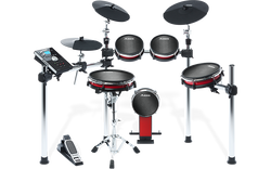 Alesis Crimson Mesh Kit - 5 Piece Drum Kit with Mesh Heads