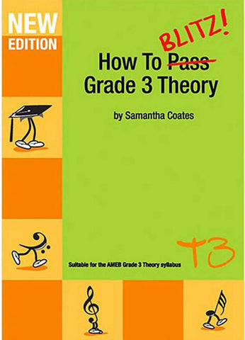 How to Blitz Grade 3 Theory Workbook