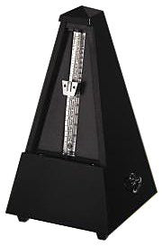 Wittner Taktell Pyramid Shape Metronome with Wooden Casing