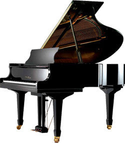 Wertheim W153 BP - Baby Grand Piano in Black Polish