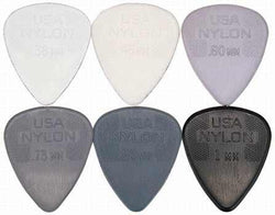 Jim Dunlop Nylon Standard Picks (Pack of 12)