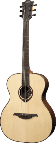 Lag Tramontane T500A Natural Finish Auditorium Acoustic Guitar