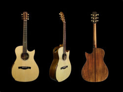 Maestro Victoria - Madagascar Rosewood with Swiss Spruce Top Acoustic Guitar