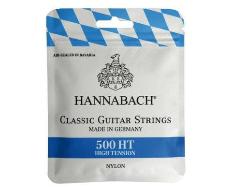 Hannabach 500HT High Tension Classical Guitar String Set