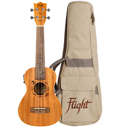(Available for order) Flight DUC523CEQ Mahogany Electro-Acoustic Concert Ukulele