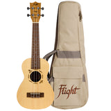 (Available for order) Flight DUC525 SP/ZEB Concert Ukulele
