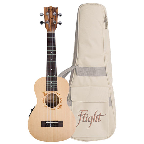 (Available for order) Flight DUC525 EQ SP/ZEB Electro-Acoustic Concert Ukulele (DUC525CEQ)