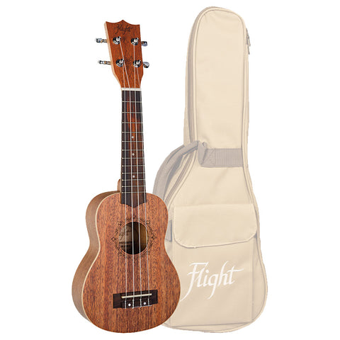 (Available for order) Flight DUS321 Mahogany Soprano Ukulele