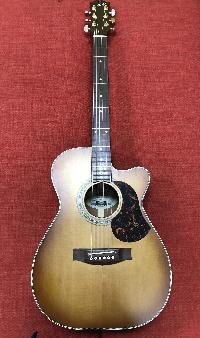 Maton EBG808C Nashville Acoustic Electric Guitar - Vintage Amber Satin