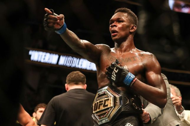 The Interim UFC Middleweight Champion, Israel Adesanya