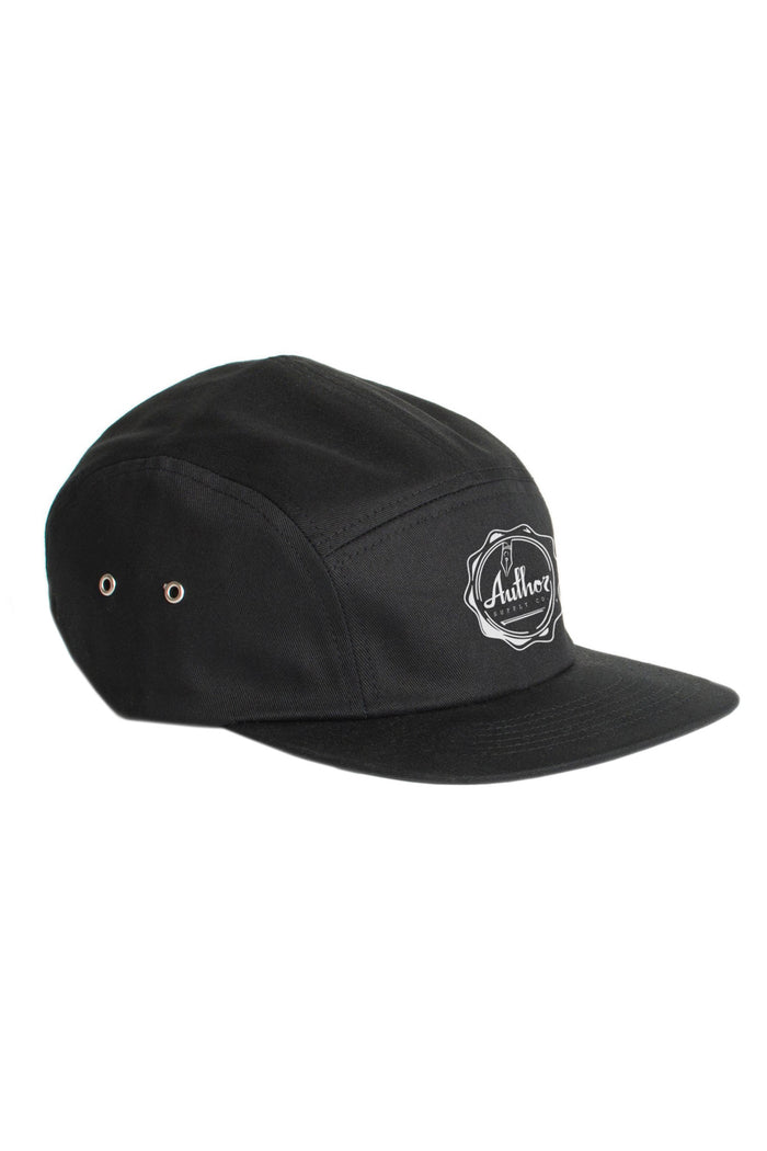 AUTHOR WAX SEAL 5 PANEL - BLACK