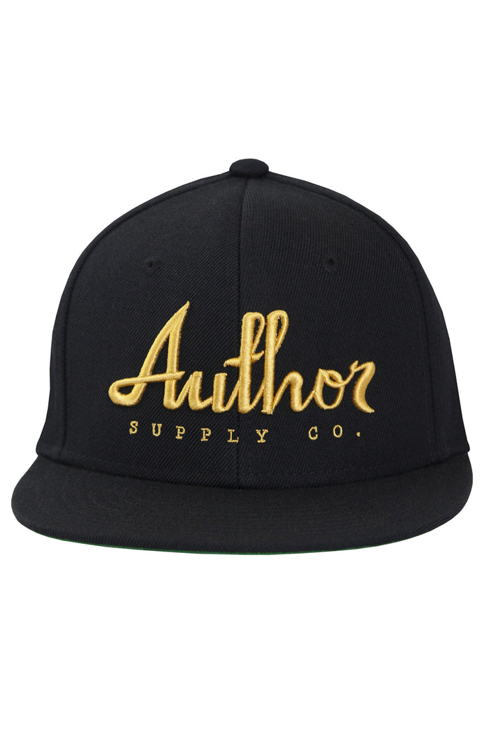 AUTHOR SNAPBACK - BLACK/GOLD