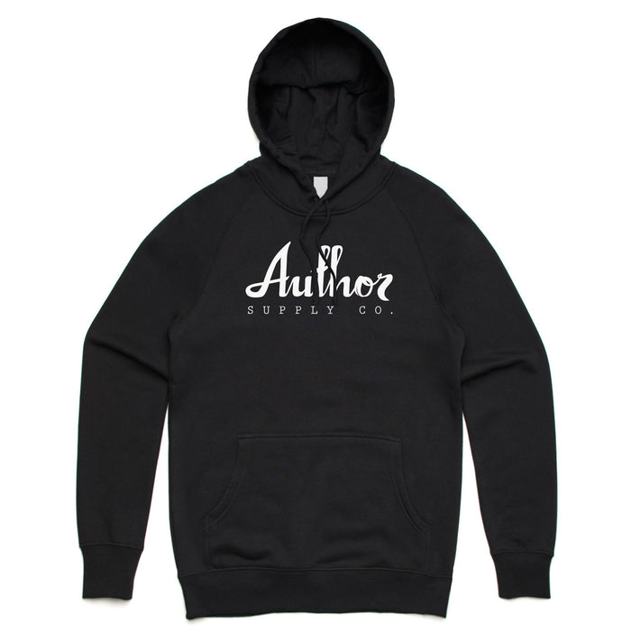 AUTHOR MID-WEIGHT HOOD (BLACK)