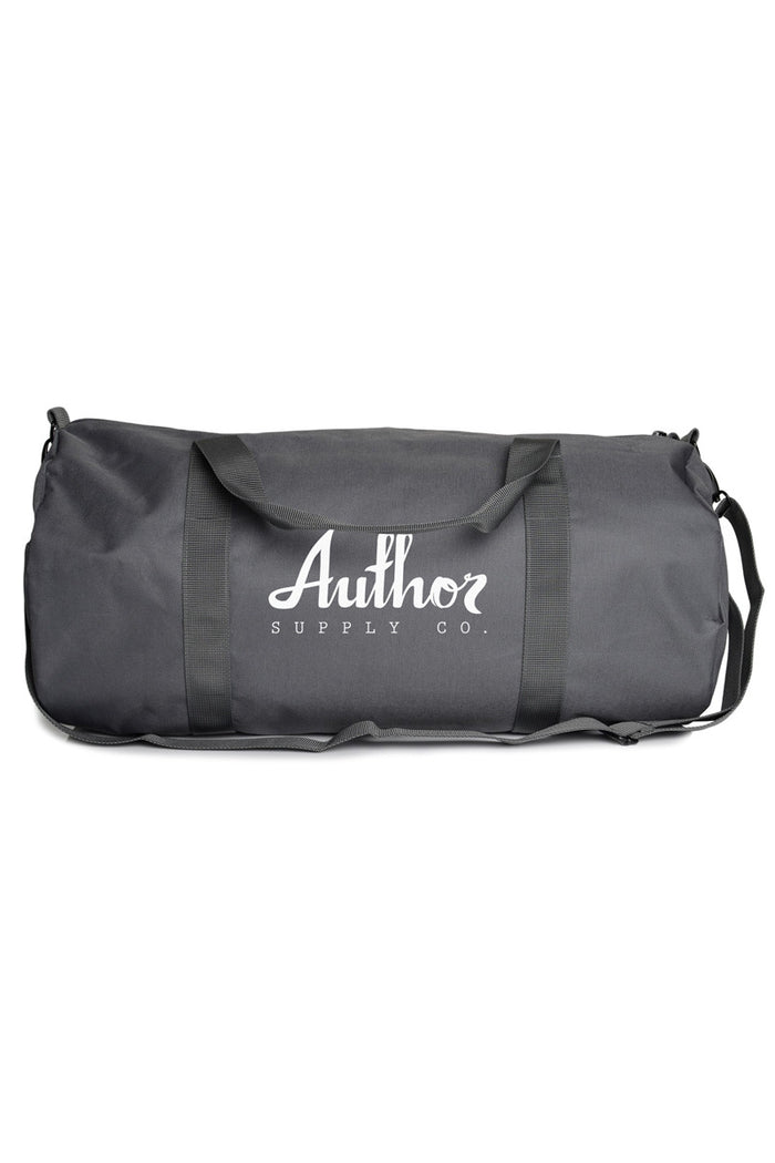 AUTHOR DUFFEL - CHARCOAL