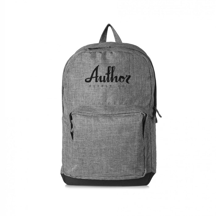 AUTHOR SCHOLAR BACKPACK - GREY/BLACK