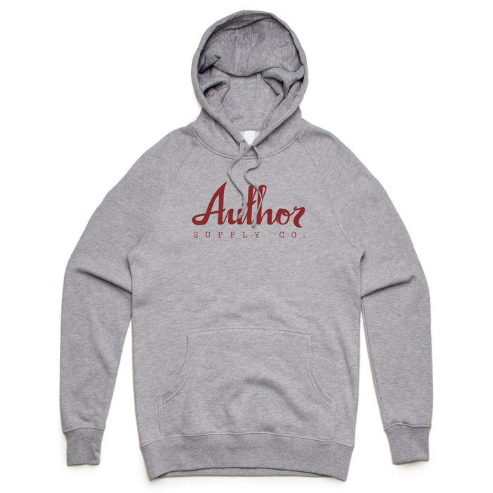 AUTHOR MID-WEIGHT HOOD (GREY)