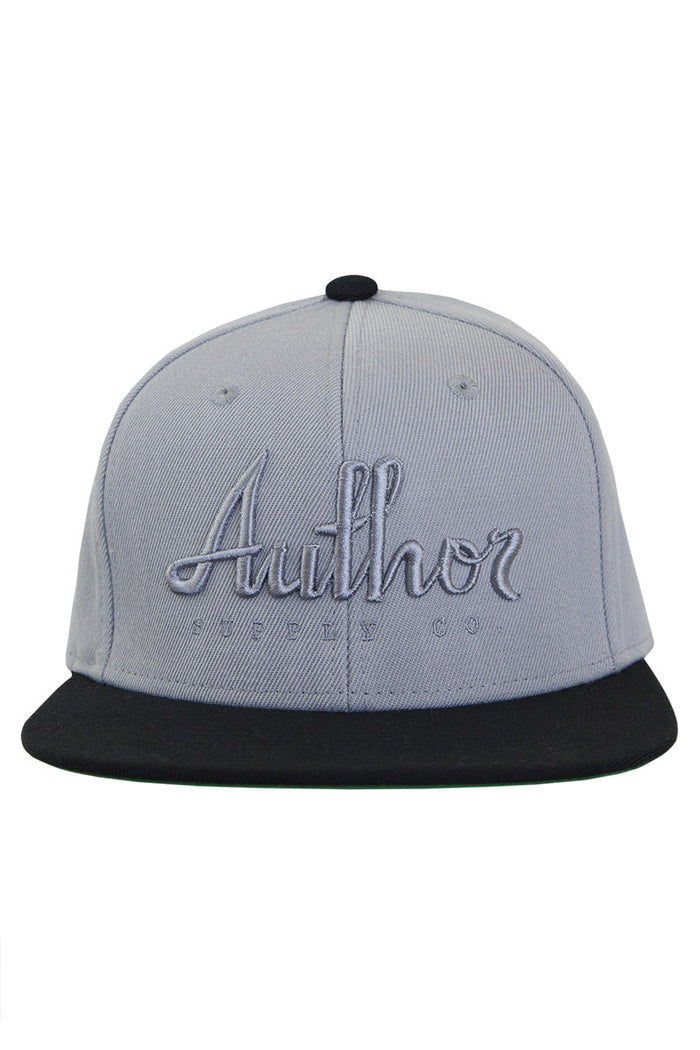 AUTHOR SNAPBACK - GREY/SILVER