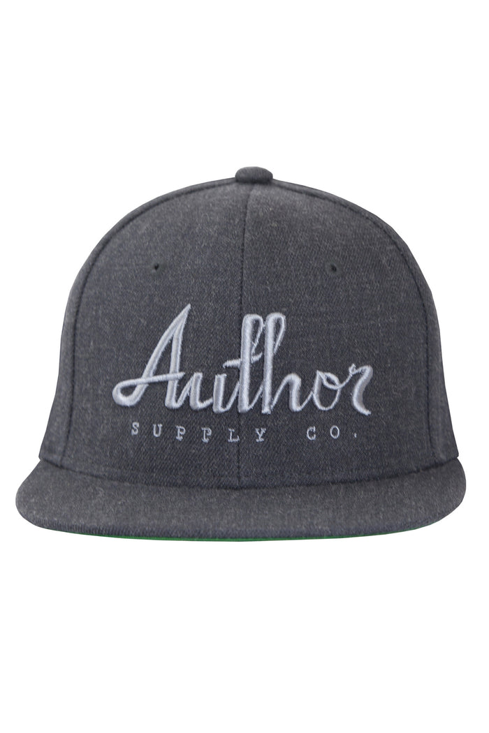AUTHOR SNAPBACK - ASPHALT/GREY