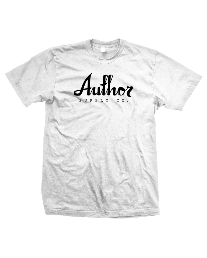 AUTHOR LOGO TEE (WHITE)