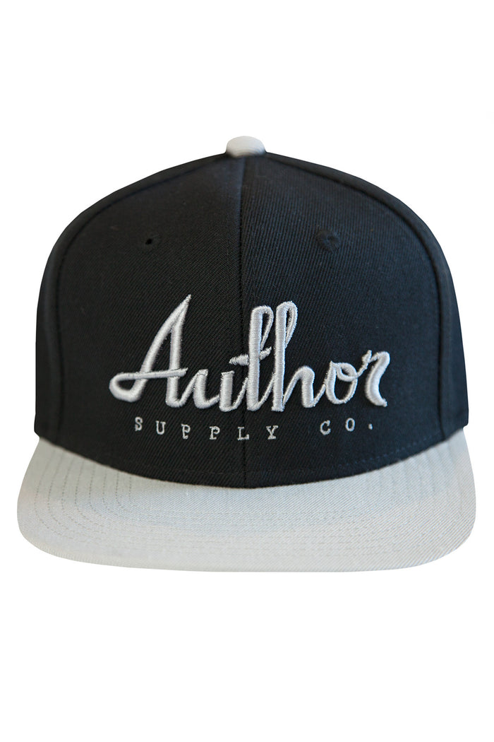 AUTHOR SNAPBACK - BLACK/GREY