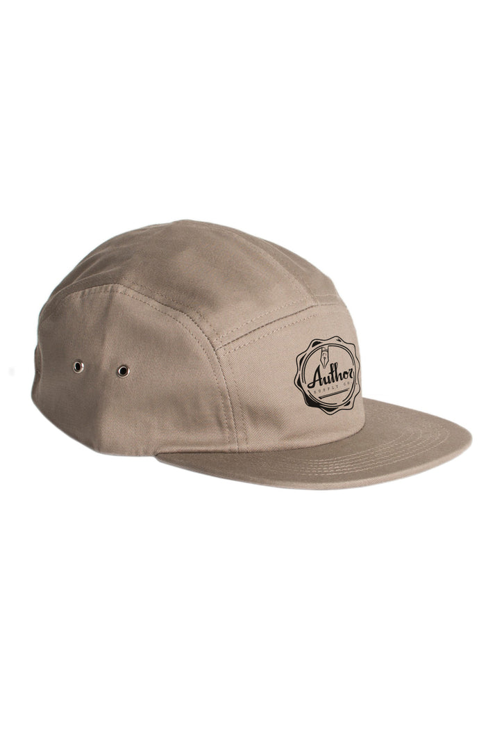 AUTHOR WAX SEAL 5 PANEL - TAN