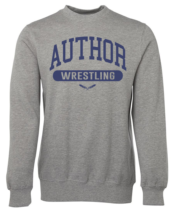 AUTHOR WRESTLING (GREY/NAVY)