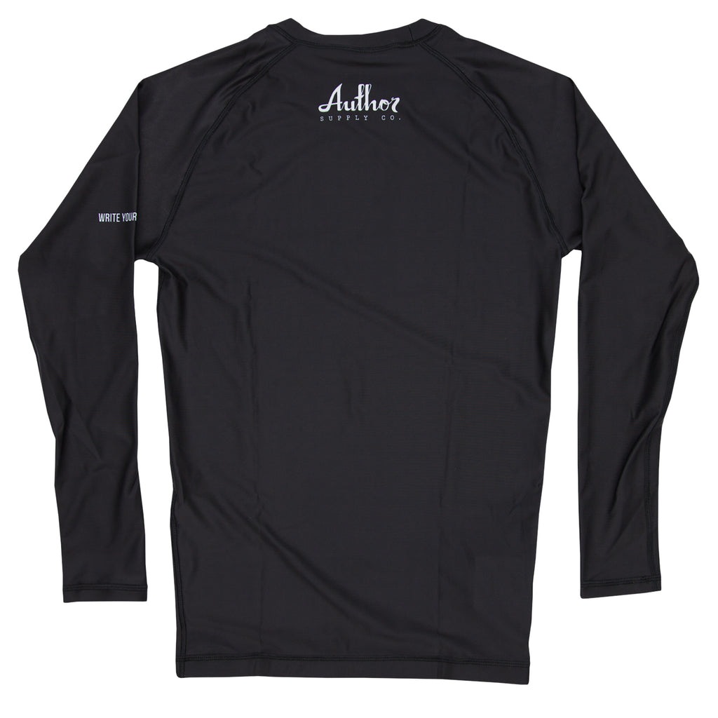 RASH GUARD (BLACK) - VOLUME TWO (LONG SLEEVE)