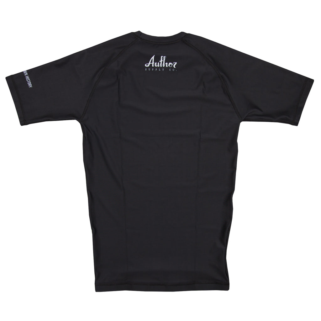 RASH GUARD (BLACK) - VOLUME TWO