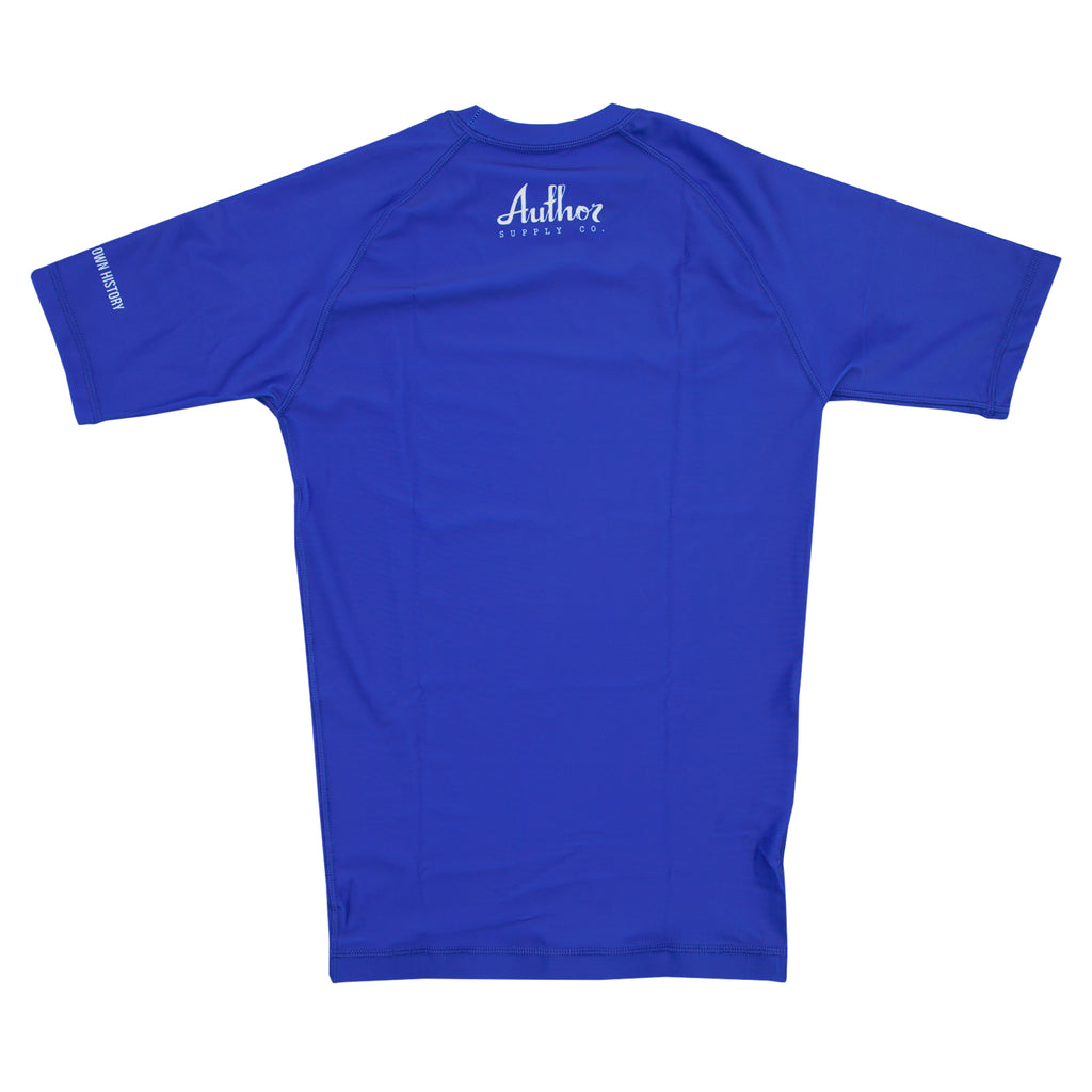 RASH GUARD (BLUE) - VOLUME TWO