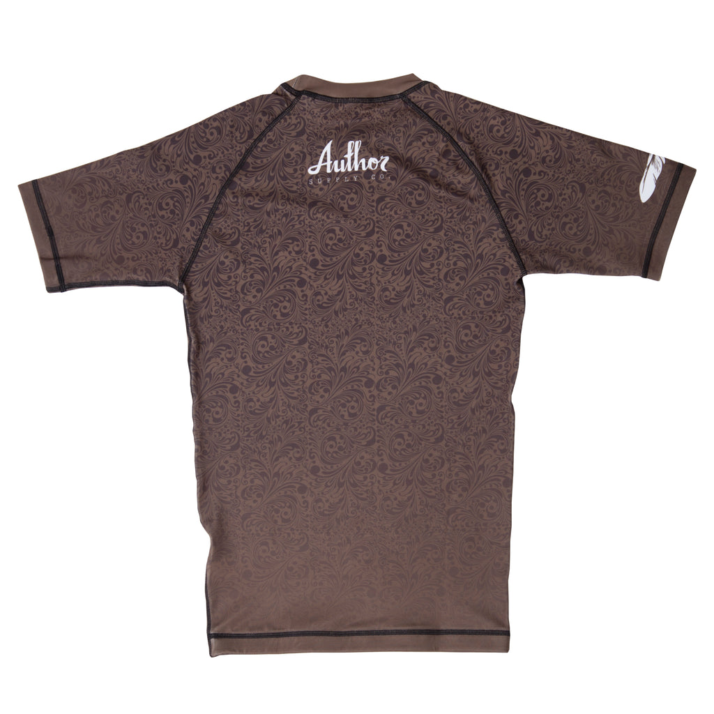 RASH GUARD (BROWN) - VOLUME ONE