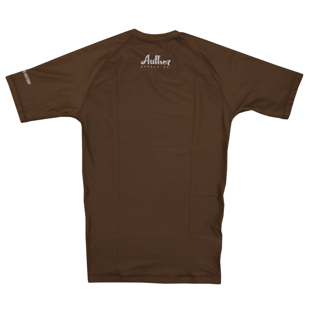 RASH GUARD (BROWN) - VOLUME TWO