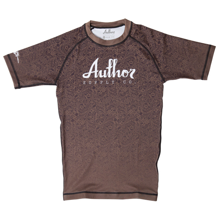 RASH GUARD (BROWN)