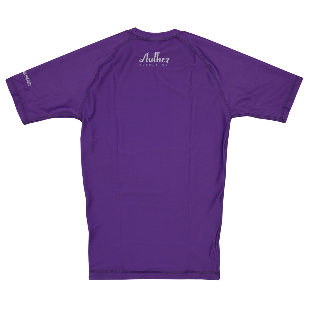 RASH GUARD (PURPLE) - VOLUME TWO