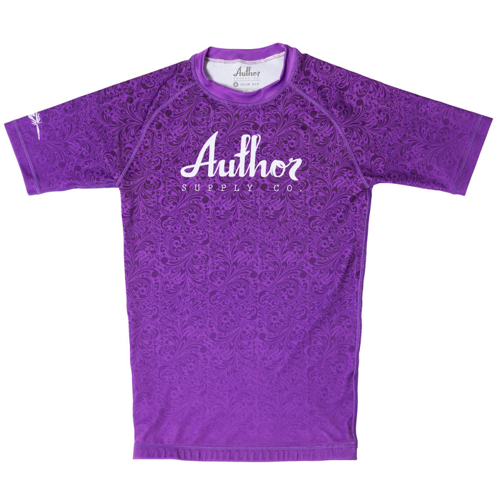 RASH GUARD (PURPLE)