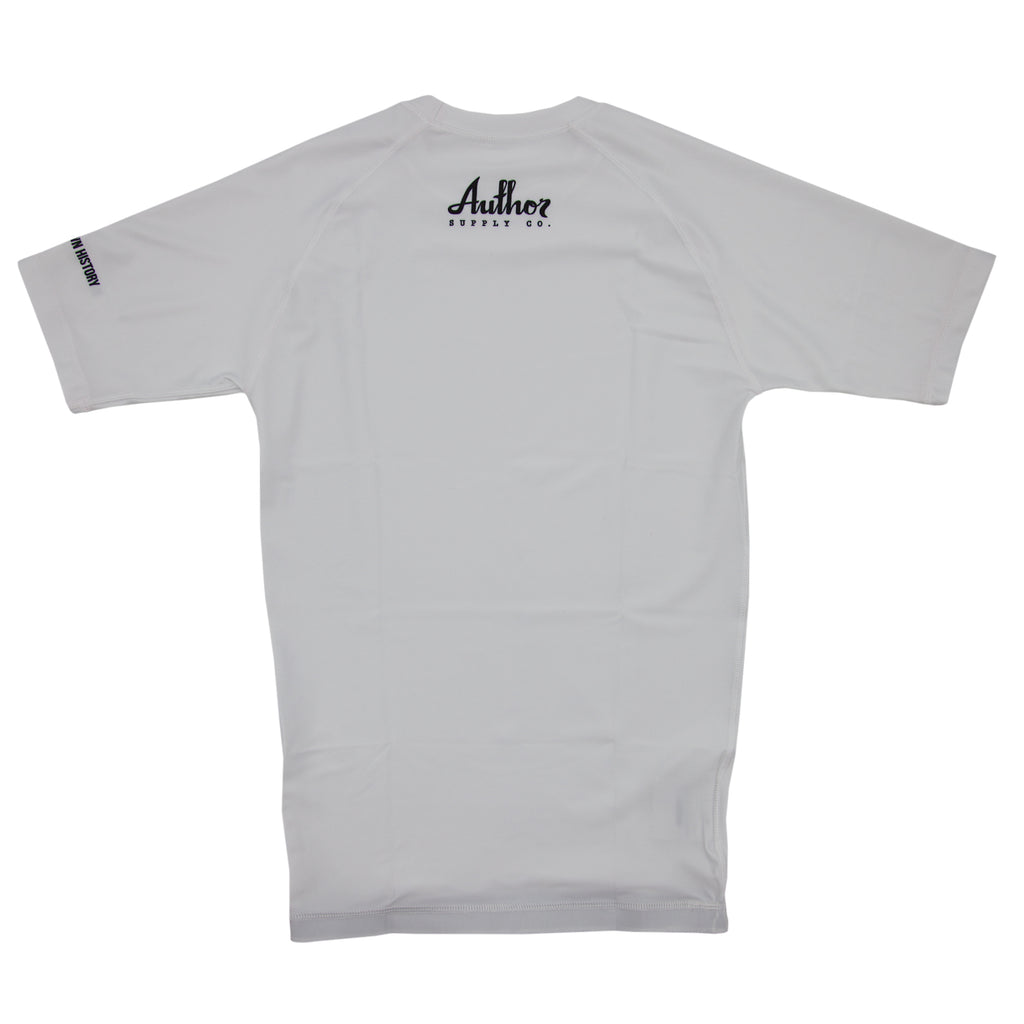 RASH GUARD (WHITE) - VOLUME TWO