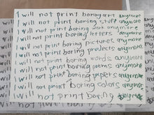 Tind Silkscreen - I Will Not Print Anymore... - Kultmarket